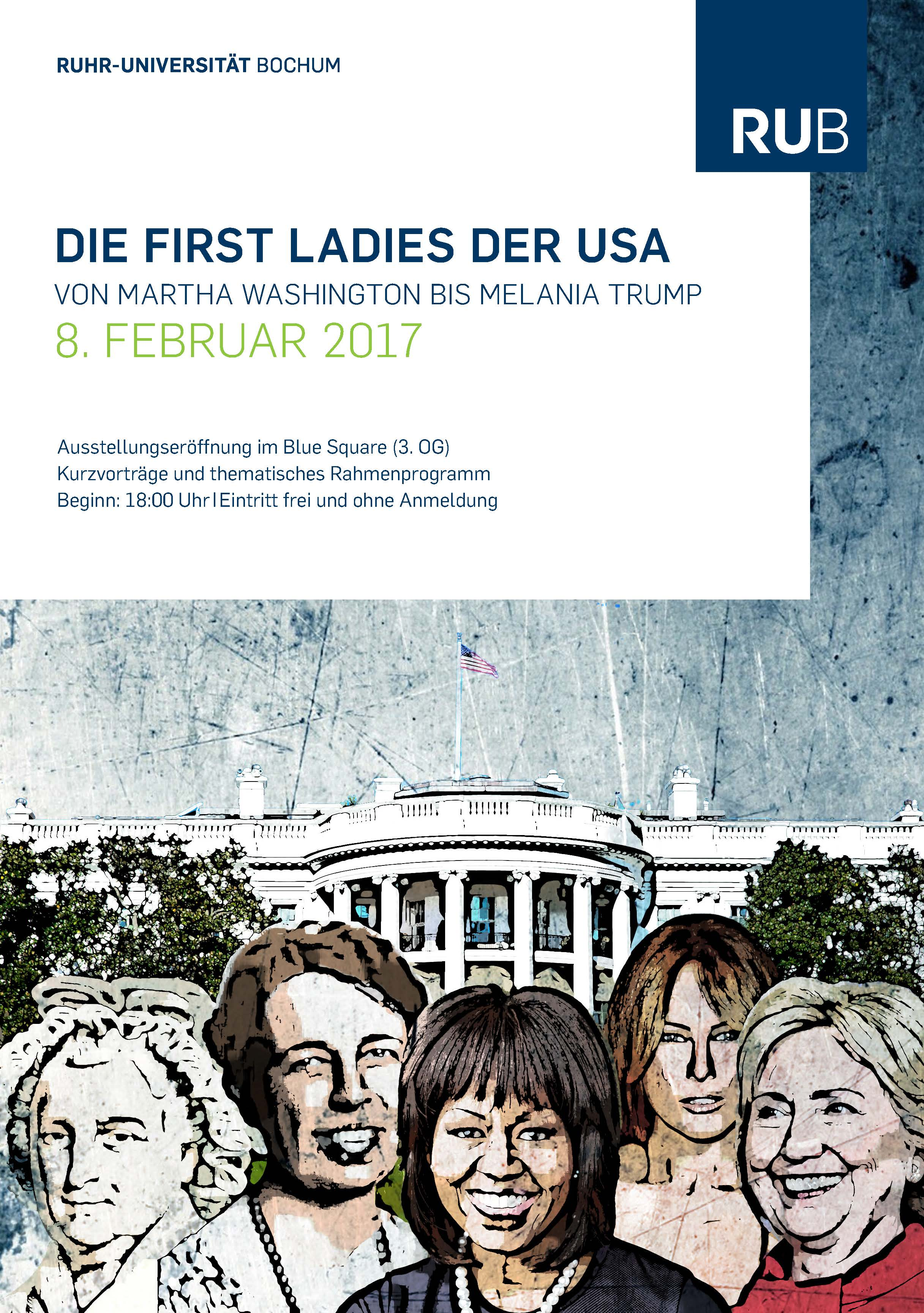 Thumbnail for the post titled: Ausstellung: Von Martha Washington bis Melania Trump – Die First Ladies der USA